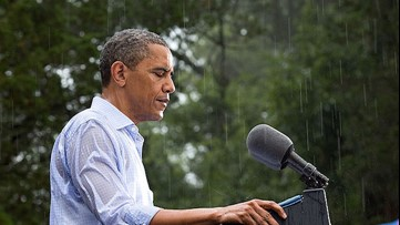 3 times weather has impacted the president