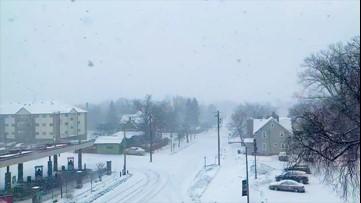 Snow blankets Minnesota