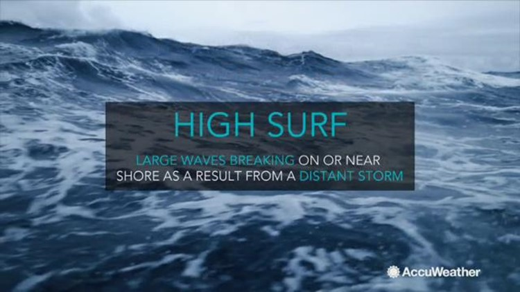 What is high surf and why is it so dangerous?
