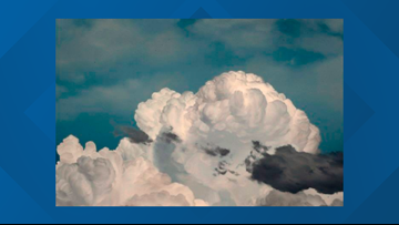 The sky is the limit for painter who focuses on weather phenomena
