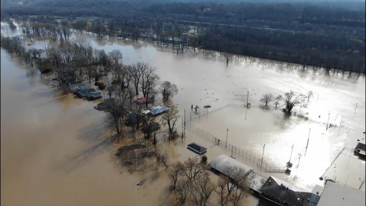 Getting a bird's-eye view of severe flooding