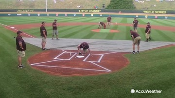 Weather is everything to Little League World Series groundskeepers