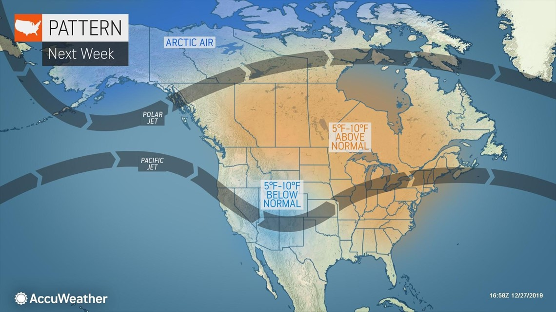 Will Brutally Cold Air In Alaska Make Its Way Into The