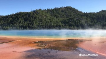 AccuWeather's Great American Road Trip heads to Yellowstone National Park
