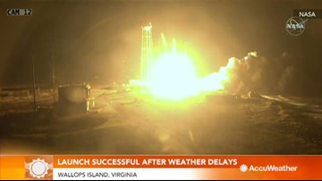 NASA launch successful after two weather delays