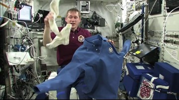Laundry Day in Space: How Do Astronauts Wash Their Clothes?