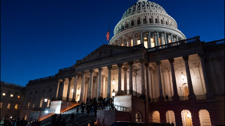 Third stimulus check: Senate works through night with virus aid on path to passage