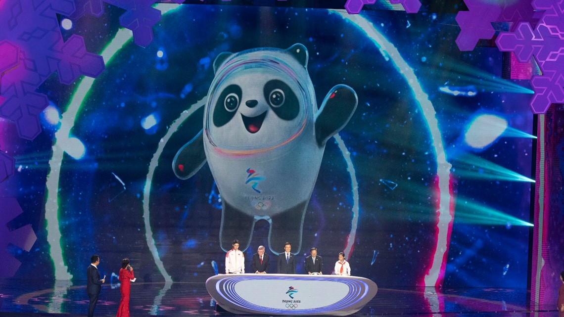 A panda is the mascot for the 2022 Beijing Winter Olympics