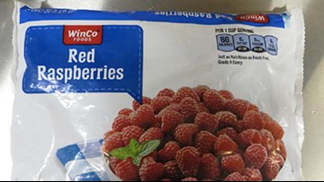 WinCo recalls Frozen Red Raspberries that may have norovirus contamination