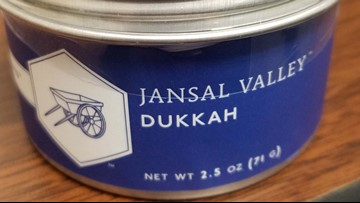Cans of dukkah spice recalled for possible glass pieces