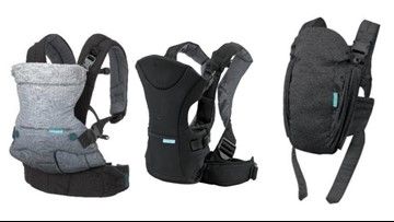 Infant carriers sold at Target, Amazon recalled because baby could fall out
