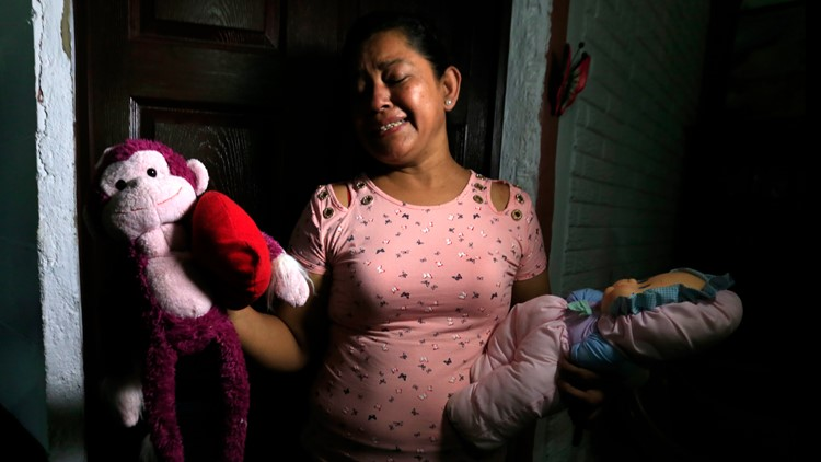 APTOPIX El Salvador Mexico US Border Migrant Deaths