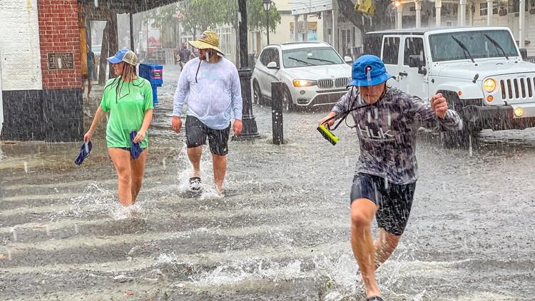 Elsa threatens Florida's northern Gulf coast