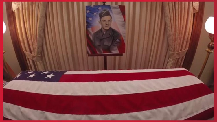 Robert Lee Bray Korean War veteran funeral