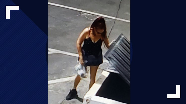 Woman held for allegedly dumping puppies in California trash