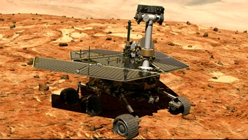 'My battery is low and it's getting dark': Mars Opportunity rover ends 15 year mission
