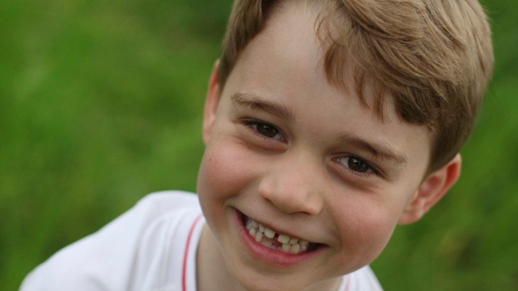 LOOK   UK palace releases new Prince George photos as he turns 6