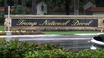 Report: Video showing fake Trump shooting media, critics shown at his resort
