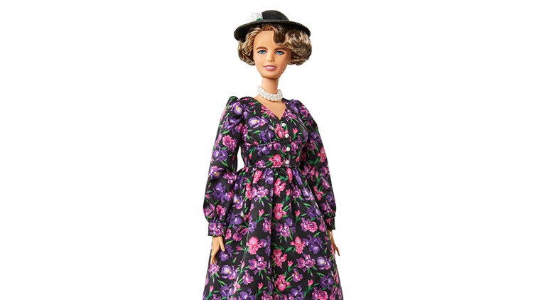 Barbie introduces new Eleanor Roosevelt doll ahead of International Women's Day