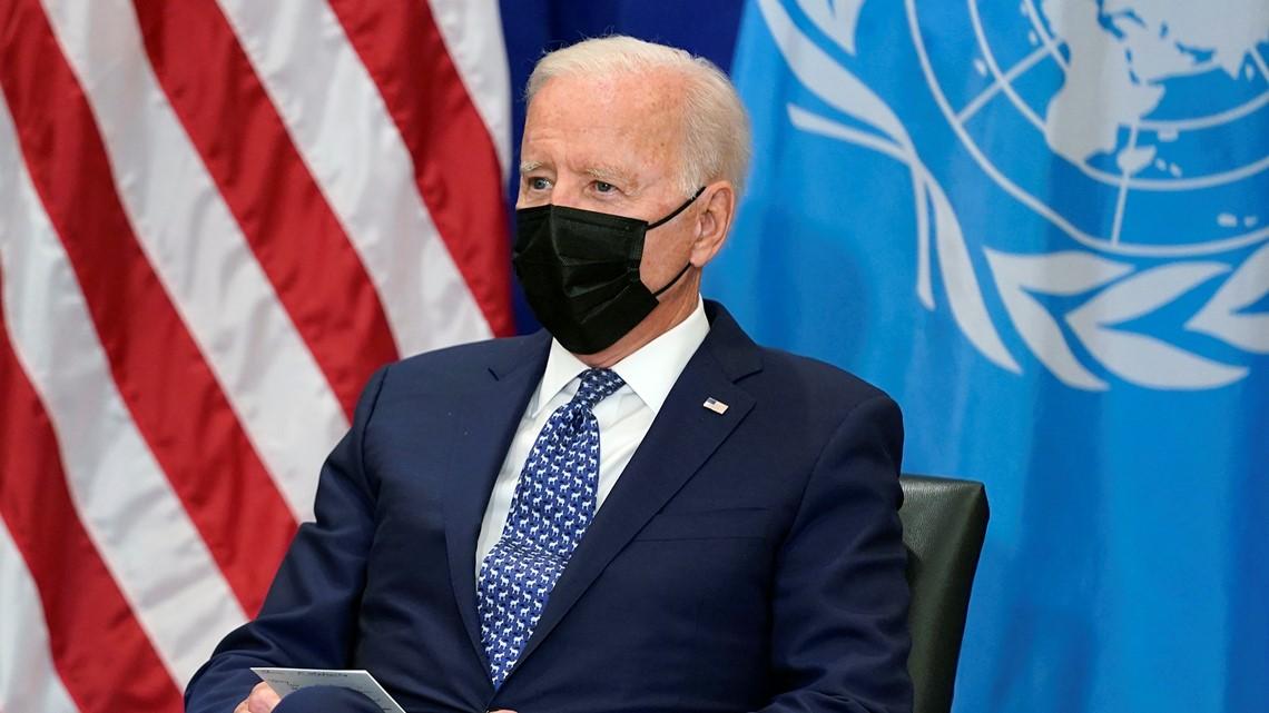 Biden addresses UN on heels of Afghanistan pullout
