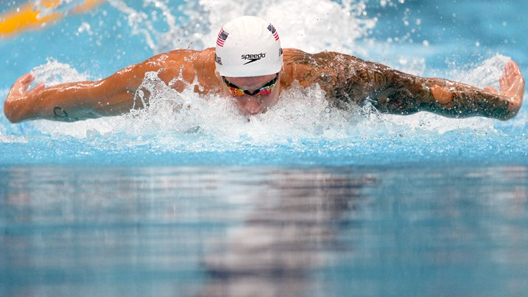 World, Olympic records set in the pool Thursday in Tokyo
