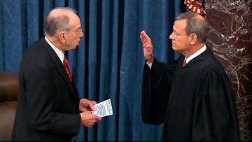 Senators take oath as Trump impeachment trial officially begins