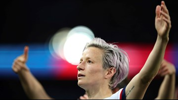 Who is US soccer star Megan Rapinoe?