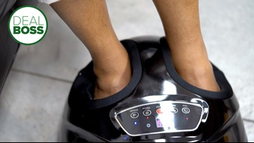 How to get a robo foot massager on sale for half price