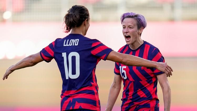 Tokyo Rewind, Aug. 5: US wins beach volleyball gold, soccer bronze