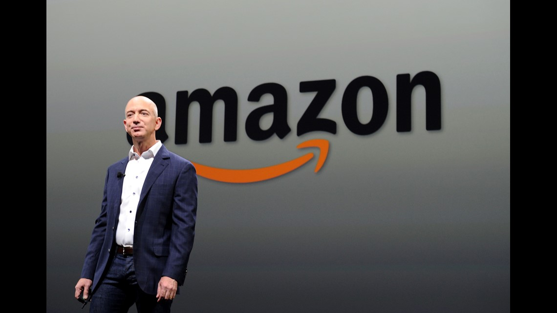 Jeff Bezos through the years