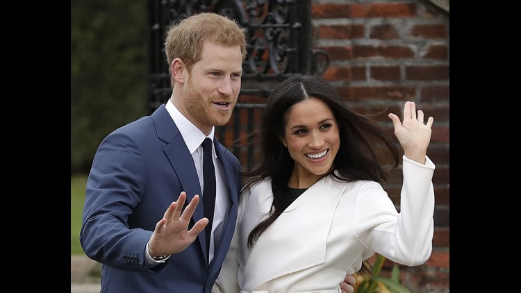 Get set for another royal wedding. Britain's Prince Harry and American actress Meghan Markle announced in London they will marry this spring. Credit: Matt Dunham/AP