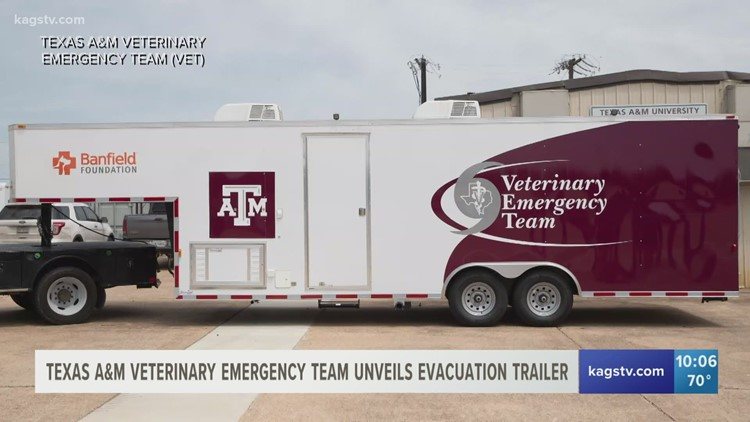 Texas A&M Veterinary Emergency Team gets new emergency vehicle