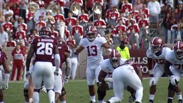 Alabama quarterback Tua Tagovailoa will enter the NFL Draft
