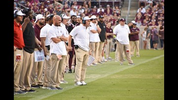Aggies rush for over 315 yards, take down South Carolina