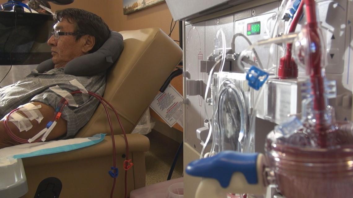 Veteran gets new kidney after years of denial