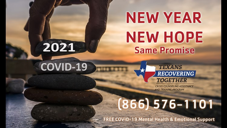 Free, anonymous counseling services for Texans
