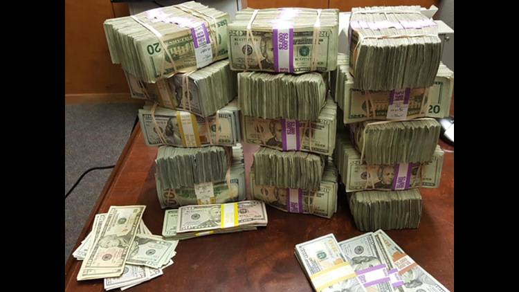 Agents Find More Than Half A Million Dollars In Gas Tank