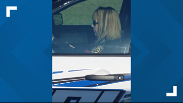 Killeen officer caught on camera using phone while driving without seat belt