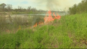 Fires along San Antonio River were intentionally set by officials