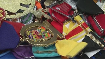 Woman collects more than 800 medals from Fiesta 2019