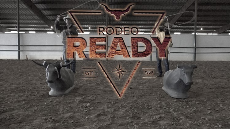 Are you rodeo ready? Cowboy Coker takes on roping