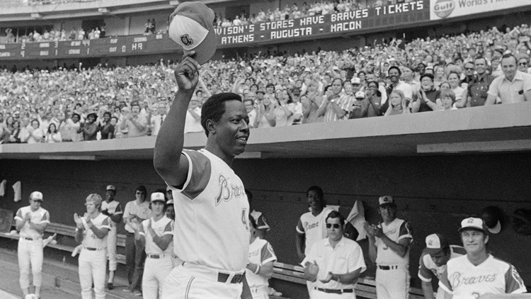 'Most sincerely, Hank Aaron': San Antonian shares letter to his father from baseball legend