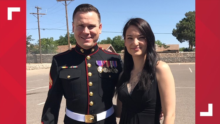 Marine veteran Bobby Lane and his wife, Liz