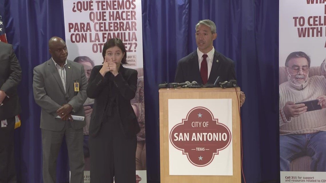 'We need your help' | San Antonio leaders share latest COVID vaccination rates, cases
