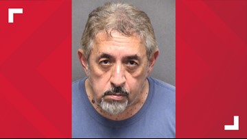 Suspect accused of exposing self at San Antonio park