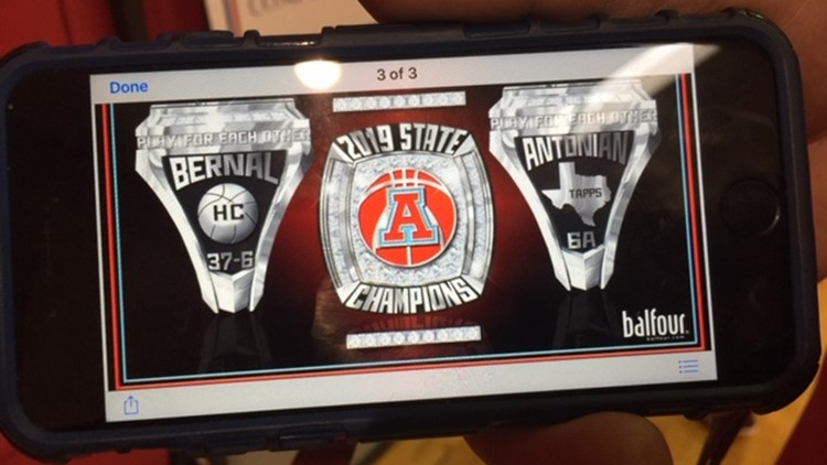 BKB Antonian state rings