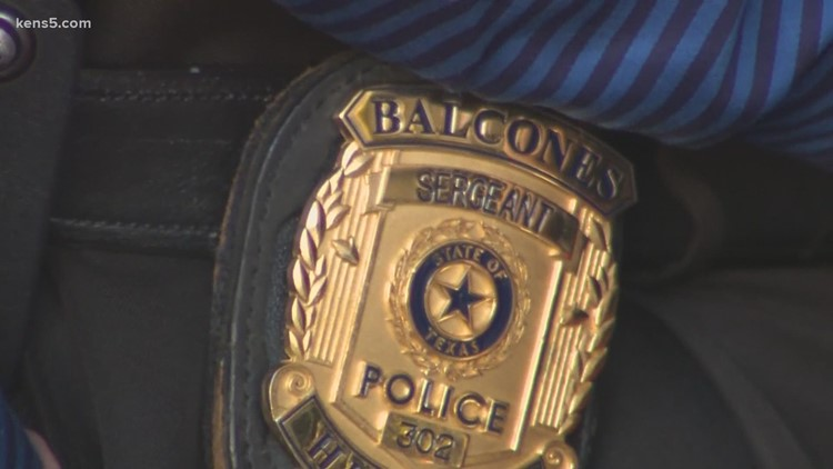 Balcones Heights Sgt. on duty returns to hospital to thank staff