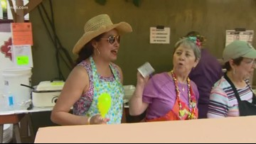 Meet a family that's turned volunteering into a Fiesta tradition