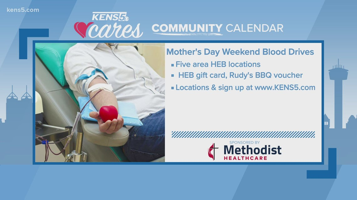 Blood donors can give a special gift for Mother's Day weekend