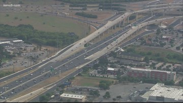 New exit on Loop 410 closed for repairs
